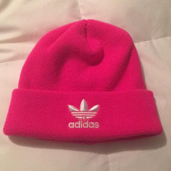 adidas Accessories - Hot Pink Adidas Beanie 561dee0954b